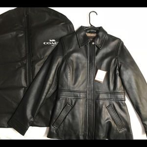 NEW Old Stock COACH Leather Jacket